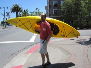 Lloyd Carrying the Kayak_compressed