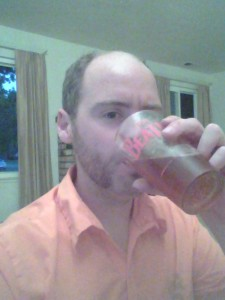 I'm drinking my American Ale as I type this.  Per international statute you have to take a selfie when drinking