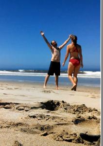 celebration at beach