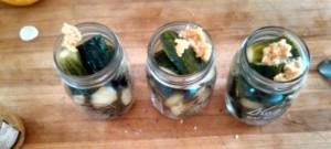 Jarred Cucumbers
