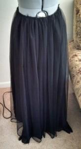 Slightly more interesting skirt.