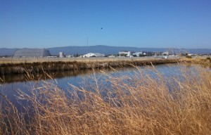 NASA Ames is right next to the trail