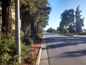 Sunnyvale only partially believes in sidewalks