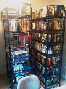 1.5 Shelves of books