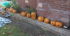 The neighborhoods Jack-o-Lanterns