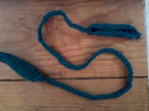 The finished cord.