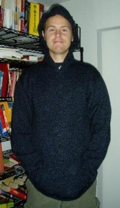 The original sweater I knit a few years ago.