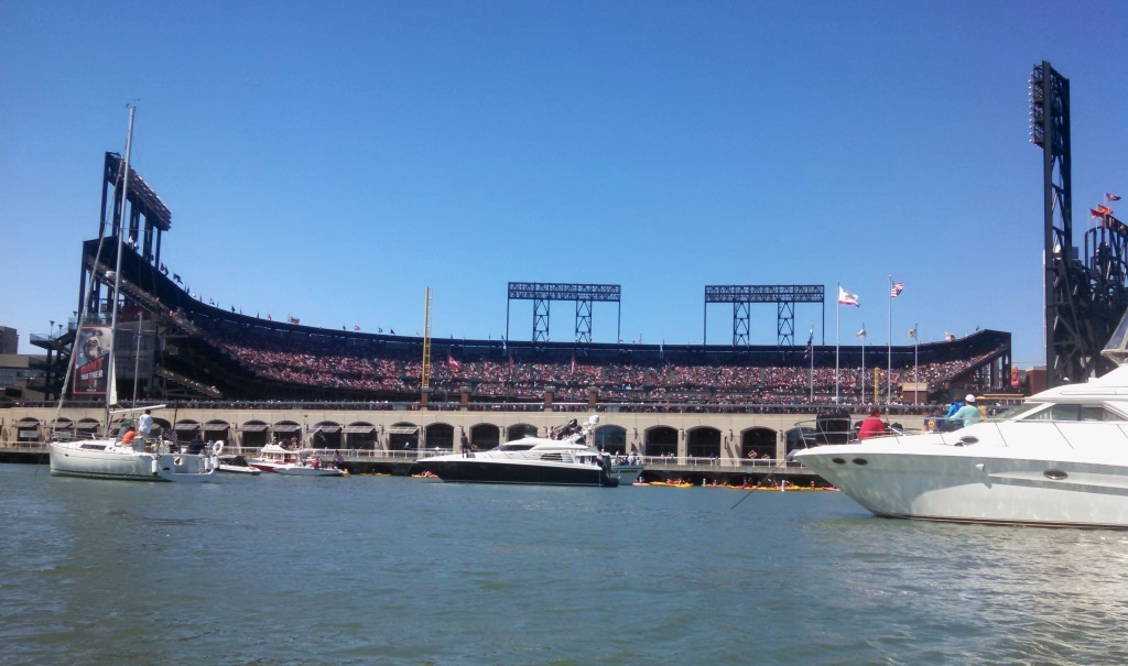 The Ballpark.  Giants ended up winning 6-5 in the end, so a good day all around.