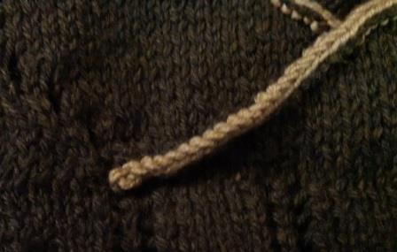 I also added edging detail to the collar by picking up stitches all around the edge and knitting a couple of rows. It makes it look so much nicer!