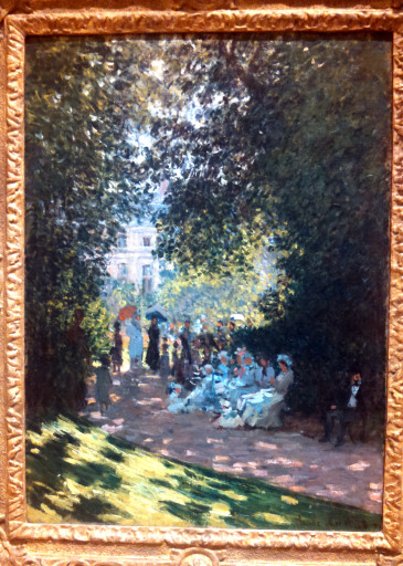 A piece from Monet. I think that Impressionism is my favorite painting style. Jasmine may disagree.