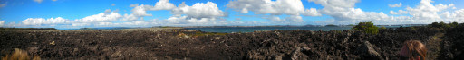 And a panorama from the beach. You have to open it up full screen to appreciate.