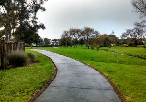 Walmsley park. It was a really nice pathway that went for about 4 km of the walk.