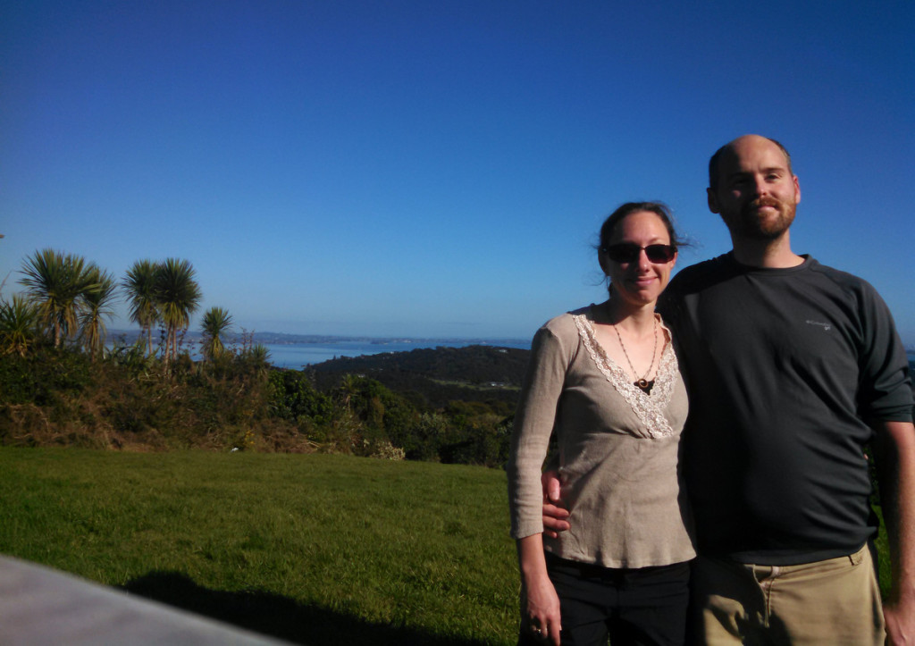 We got to a cool overlook and decided to take a picture of the two of us, as they are lacking in the blog