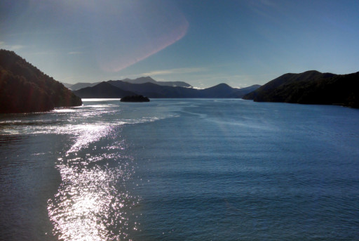The sounds around Picton make a lot of cool islands and inlets. It would delightful to sail around here.