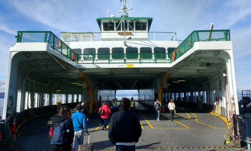 And our ferry home.