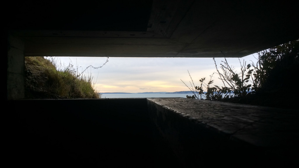 And a fort Ebey fortified view.
