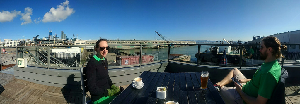 Our Brunch had a spectacular view! I highly recommend the ATWater tavern if you're in SF.