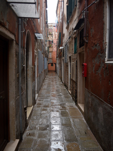 Most streets in Venice look like this.