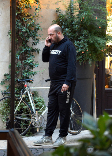Finally my most enduring image of Italy. A out of shape man talking on his cell phone too loud while smoking. Addio!