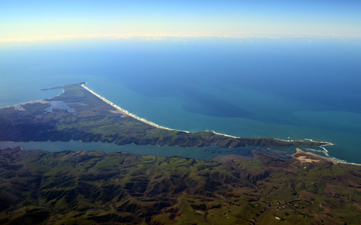 Pt. Reyes on the flight down. Didn't make it up this time.