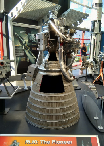 RL-10 from the museum in Huntsville near MSFC. Not exactly what I'm working on by close enough for government work.