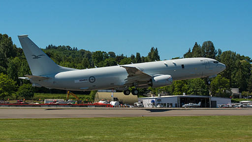P-8 courtesy of Boeing.