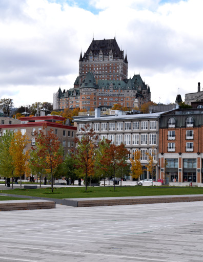 Obligatory Chateau Frontenac. Got to take a picture of the fancy Canadian railroad hotel.
