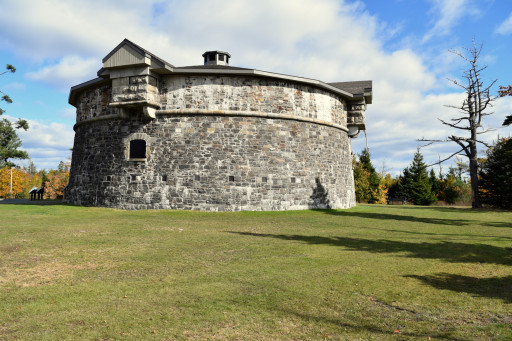 Pt. Pleasent park had a fair share of fortifications, the best way to keep the french away.
