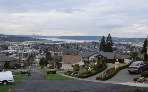 There are some surprisingly nice vista's in Renton.